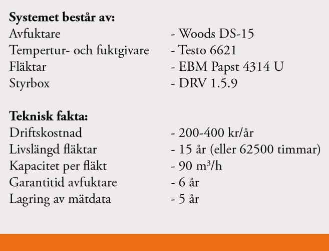 information om avfuktare