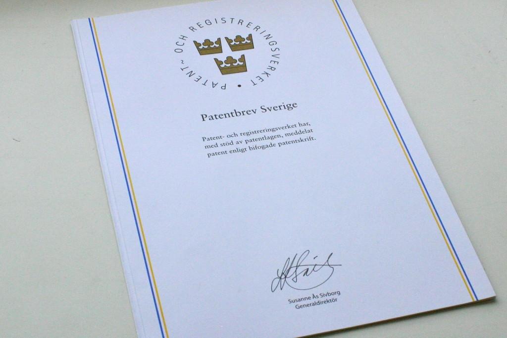 Penthon patentbrev